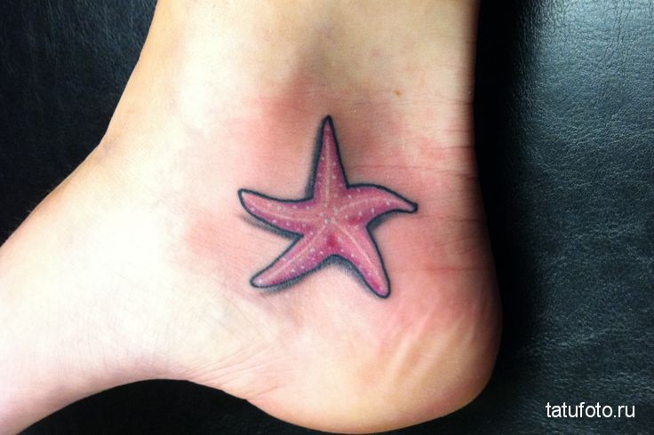 starfish tattoo 1