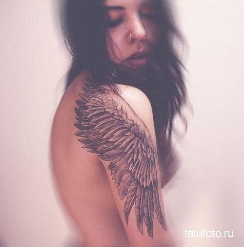 tattoo on her arm animals 2