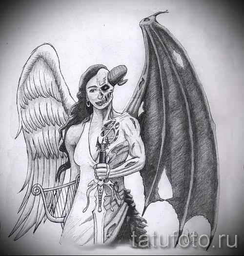 Картинки демонов с крыльями девушек