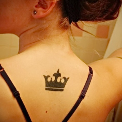 Женские Девушка с короной Как сделать Як