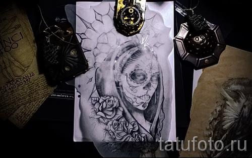 Желание сделать себе татуировку - примеры на фото 12