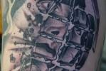 Армейская татуировка — граната лимонка