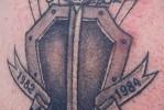Армейская татуировка — счит — меч и парашут