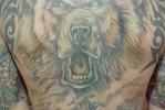 Блатная тату с медведем – признак медвежатника – взломщика сейфов