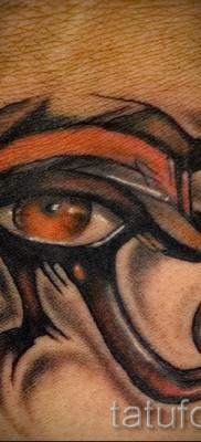 Древняя татуировка – глаз ра