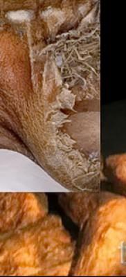 Древняя татуировка – останки мумии