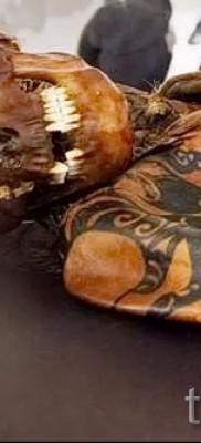 Древняя татуировка – пример
