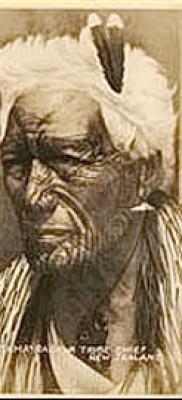 Древняя татуировка – старинные фото