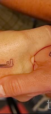 Тату замок и ключ фото пример – на руках (на кисти)