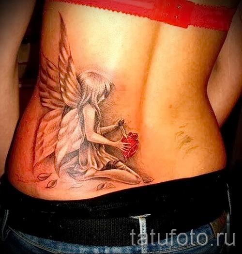 работа для девушки с татуировкой