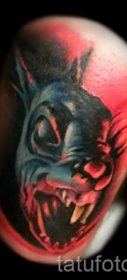 Фото тату кролик – злобная татуировка