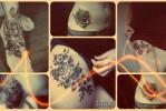 Что значат татуировки с черной розой – примеры на фото