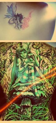 Что значат феи в татуировке – примеры на фото