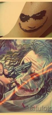 Что значит джокер в татуировке – примеры на фото