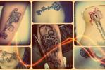 Что значит ключ в татуировке – примеры на фото