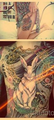 Что значит кролик в татуировке – примеры готовых тату