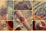Что значит татуировка со Звездой Давида – фото