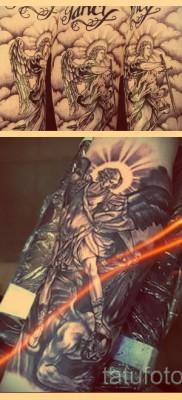 Что значит тату с архангелом Михаилом – примеры готовых тату на фото
