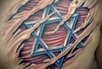 пример татуировки со зведой давида на фото 5