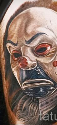 фото пример тату джокер – необычный рисунок на руку