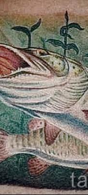 Фото тату щука – цветная и реалистичная татуировка