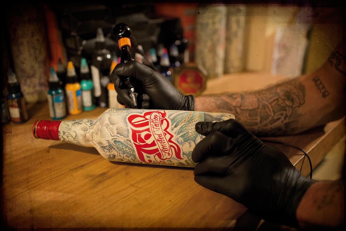 Татуировки и спиртное 1