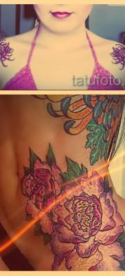 Значение тату хризантема – варианты готовых татуировок на фото