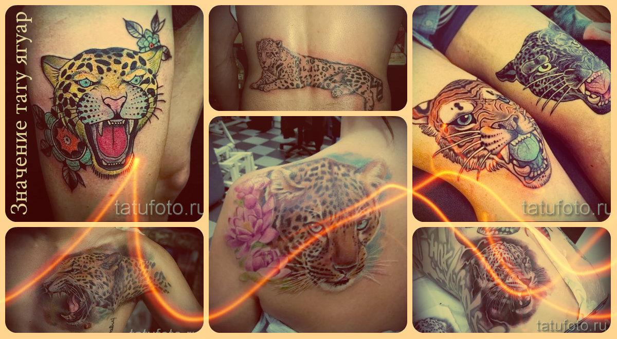 Значение тату ягуар - готовые татуировки на фото