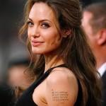 Тату Анджелины Джоли - пример на фото № 4