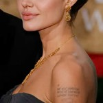 Тату Анджелины Джоли - пример на фото № 40