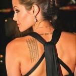 Тату Анджелины Джоли - пример на фото № 46