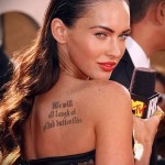 Тату Анджелины Джоли - пример на фото № 5
