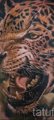 Фото пример тату ягуар 13