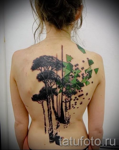 Фото тату дерево - рисункb для тату 09122015 № 014