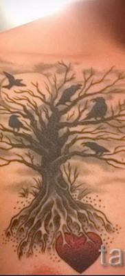 Фото тату дерево – рисункb для тату 09122015 № 082