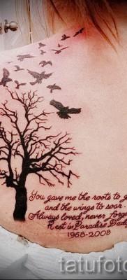 Фото тату дерево – рисункb для тату 09122015 № 094