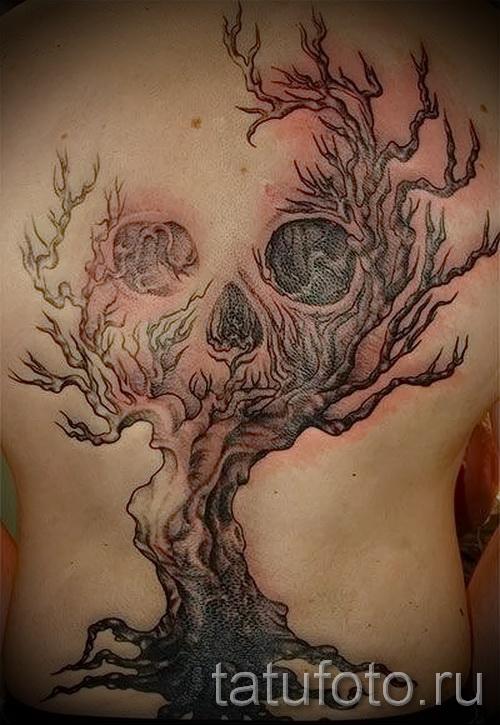 Фото тату дерево - рисункb для тату 09122015 № 095
