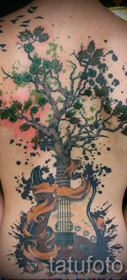 Фото тату дерево – рисункb для тату 09122015 № 099
