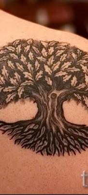 Фото тату дерево – рисункb для тату 09122015 № 101