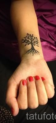 Фото тату дерево – рисункb для тату 09122015 № 111
