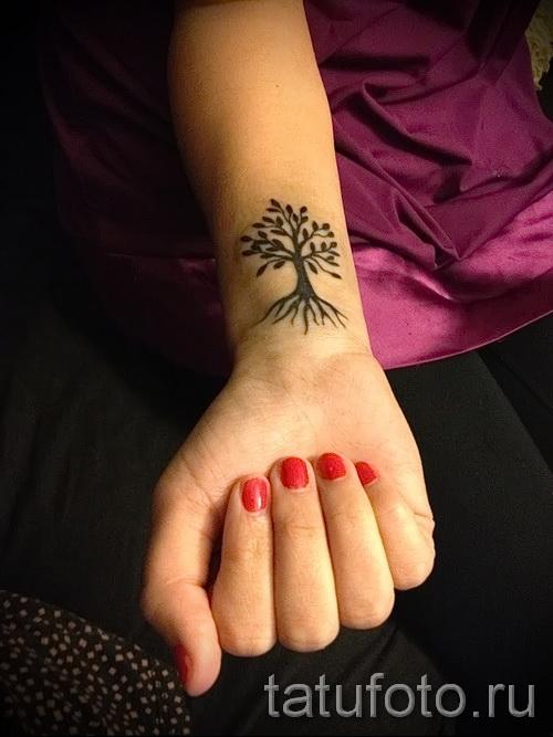 Фото тату дерево - рисункb для тату 09122015 № 111