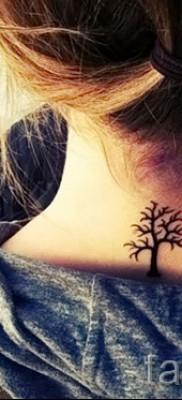 Фото тату дерево – рисункb для тату 09122015 № 113