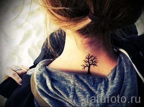 Фото тату дерево - рисункb для тату 09122015 № 113