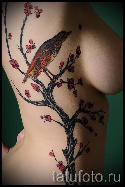 Фото тату дерево - рисункb для тату 09122015 № 125