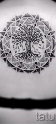 Фото тату дерево – рисункb для тату 09122015 № 129