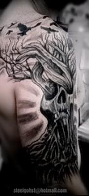 Фото тату дерево – рисункb для тату 09122015 № 131