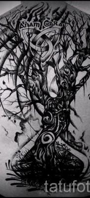 Фото тату дерево – рисункb для тату 09122015 № 142