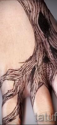 Фото тату дерево – рисункb для тату 09122015 № 144