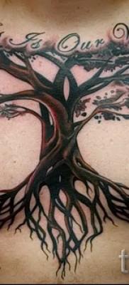 Фото тату дерево – рисункb для тату 09122015 № 145