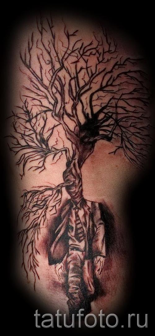 Фото тату дерево - рисункb для тату 09122015 № 147